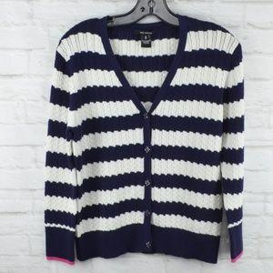 $10 Deal! Pink Tartan cotton sweater